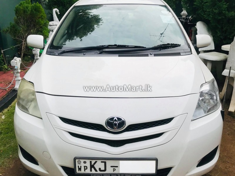 Image of Toyota Belta 2008 Car - For Sale