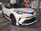 Toyota TOYOTA C-HR GT LED PACKAGE 2018 PEARL WHITE (TWO-TONED COLOR). 2018 Jeep