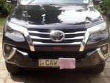 Toyota FORTUNER 2017 Jeep