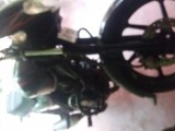 Bajaj discover 135 disk red 2009 Motorcycle