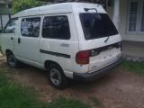 Toyota Townace 4x4 lotto GL model 2012 Van