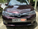 Toyota Axio Hybrid 2013 Car