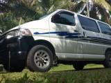 Toyota Regius (2002) registered 1997 Van